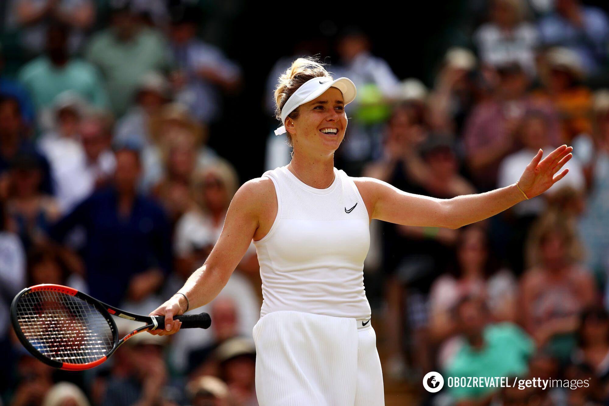 Світоліна дійшла до півфіналу Wimbledon-2019