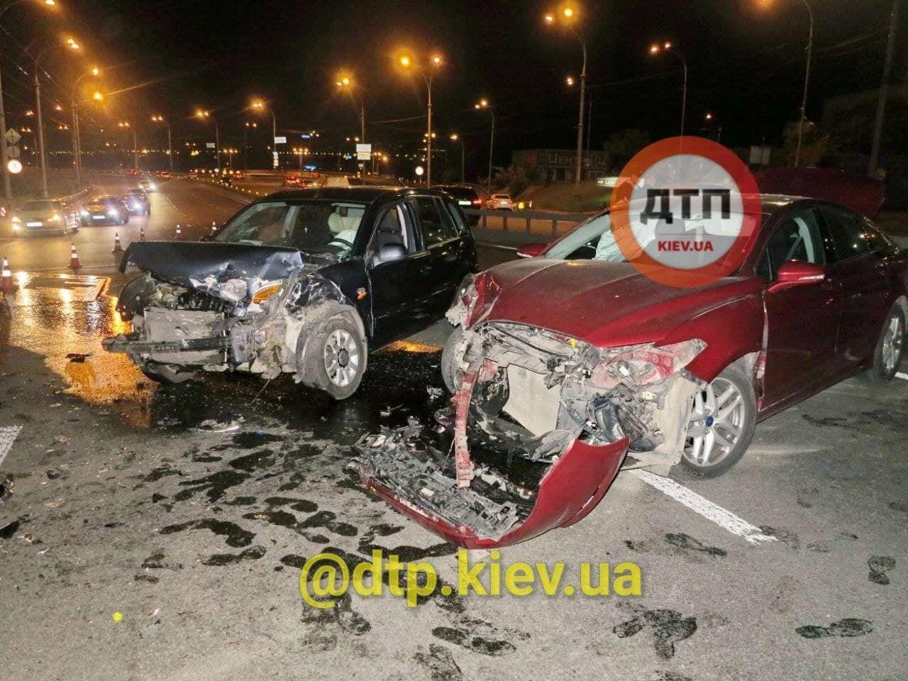На місці аварії працювали правоохоронці.