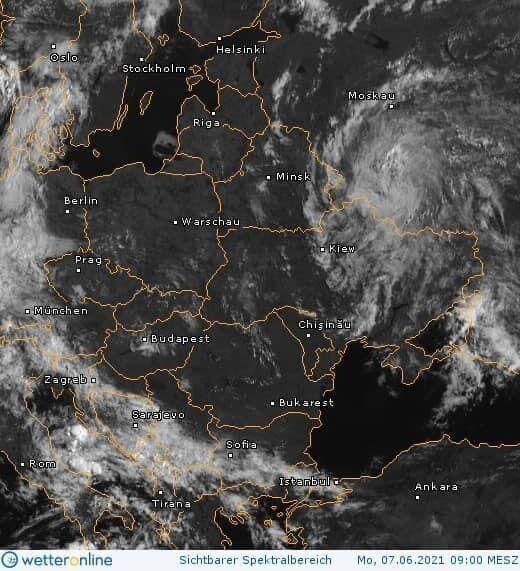 Супутникова карта циклону