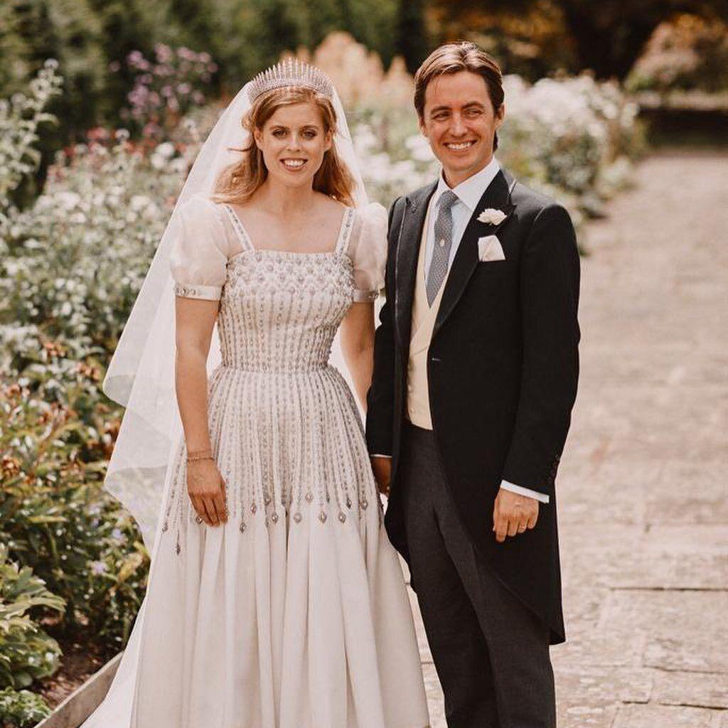 Принцесса Евгения и ее супруг Джек Бруксбэнк.