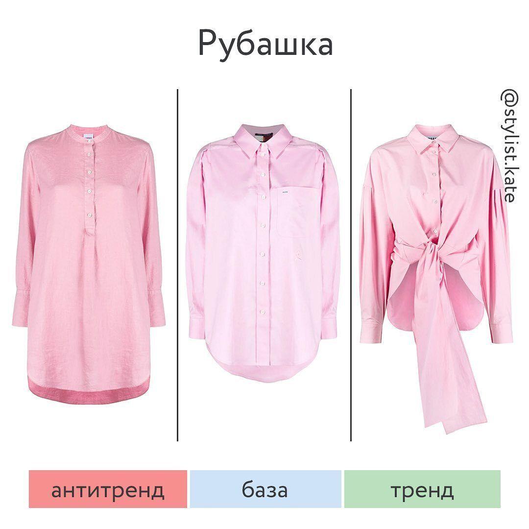 Ознаки застарілої сорочки – комір-стійка і укорочена планка