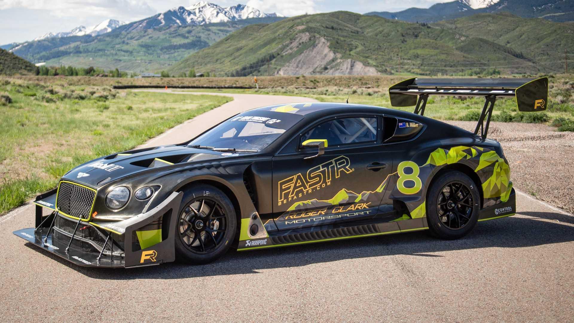 Новинка істотно відрізняється від звичайного купе Continental GT3