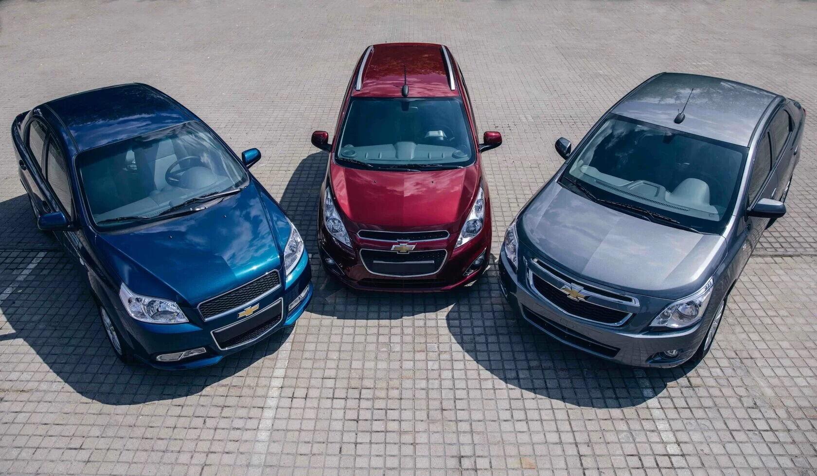Спочатку на ринку будуть представлені три моделі Spark, Cobalt і Nexia