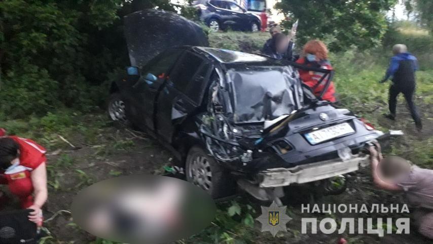 На Київщині в ДТП загинув 12-річний іменинник.