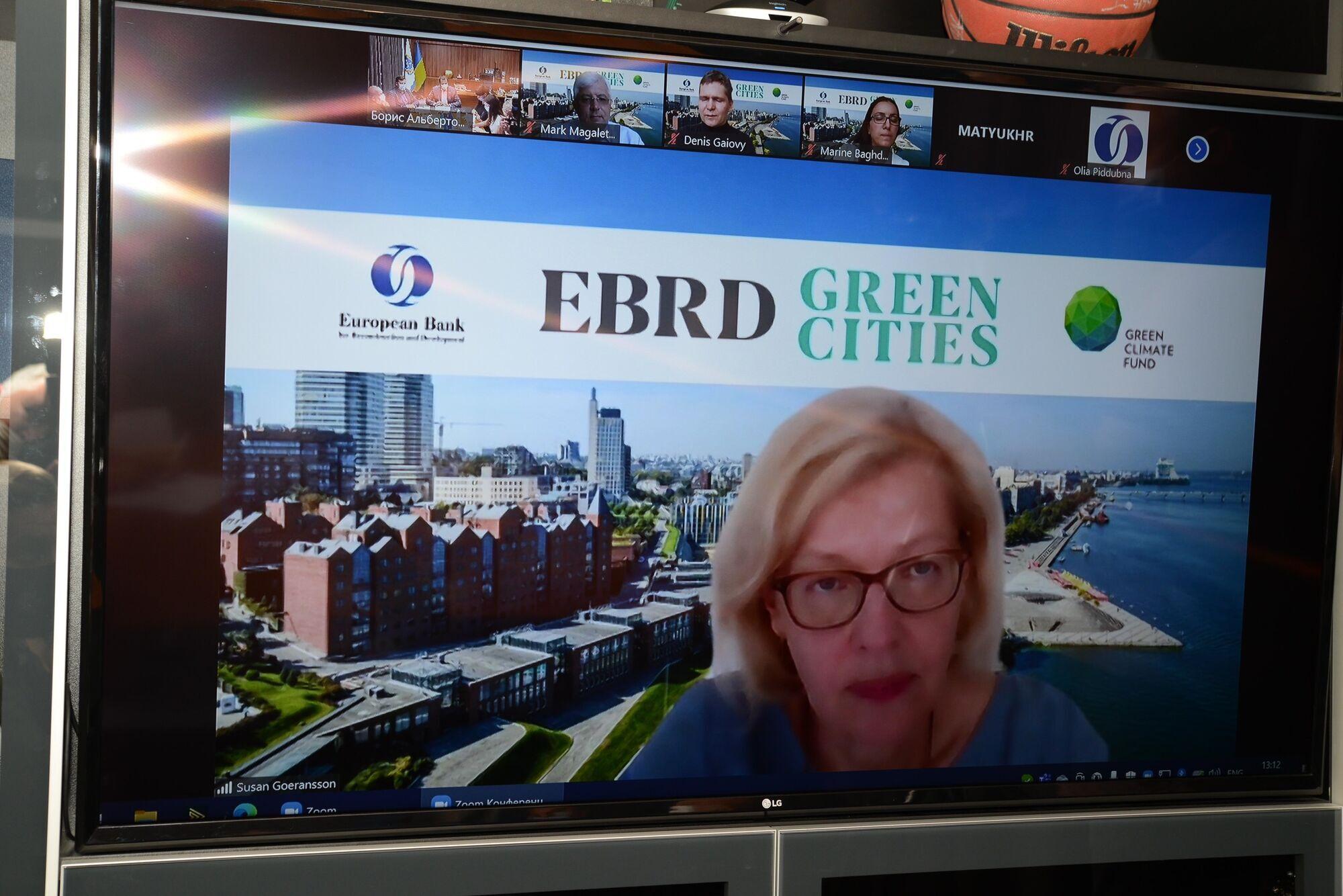 Директор инфраструктурных проектов в Европе ЕБРР Сьюзан Горанссон