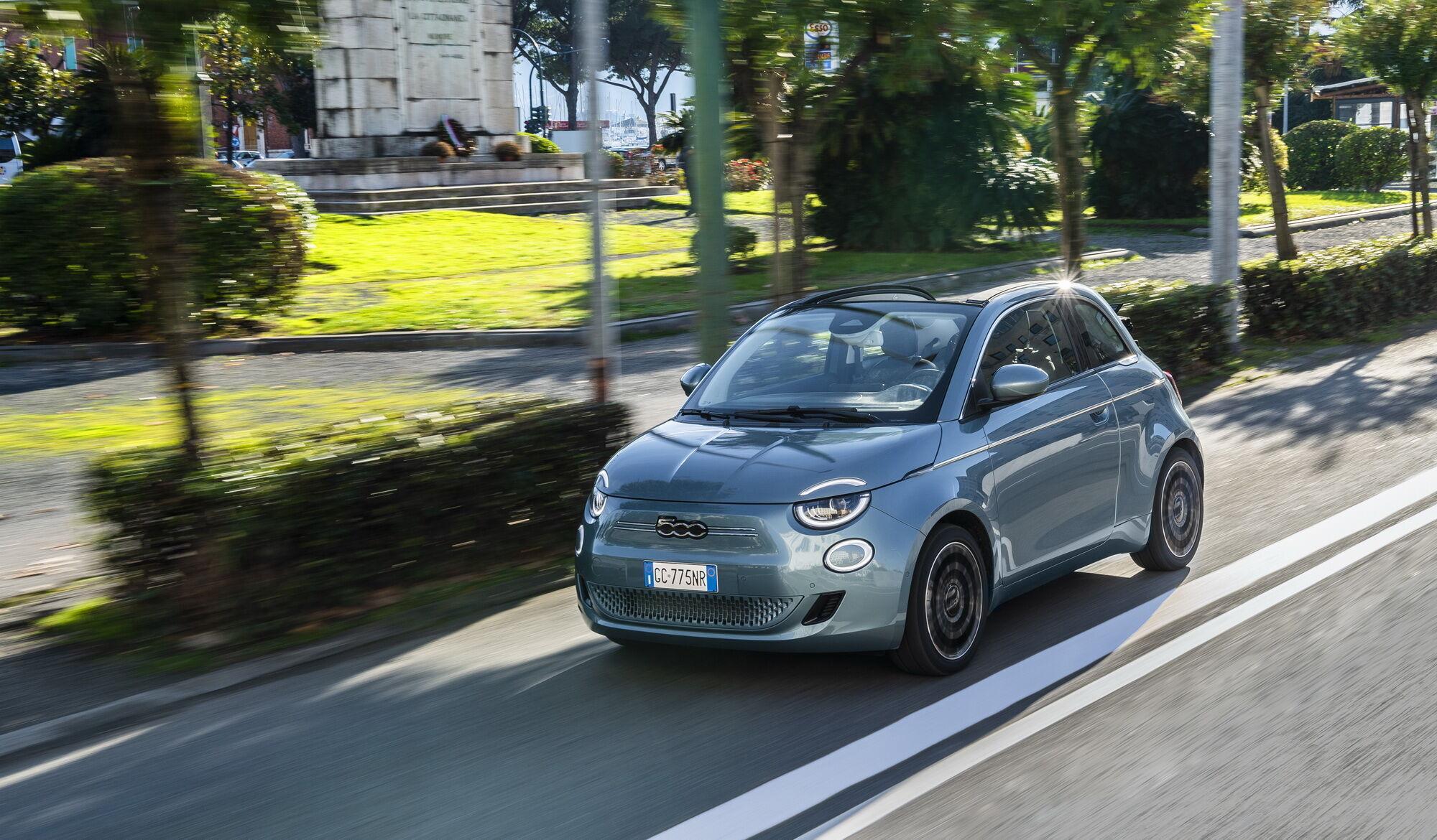 Новый FIAT 500 изначально создавался как электромобиль