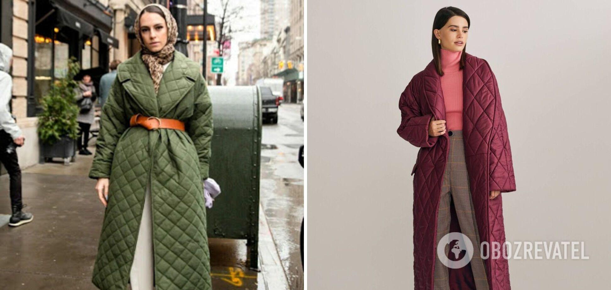 Стьобане пальто практичне і довго служить
