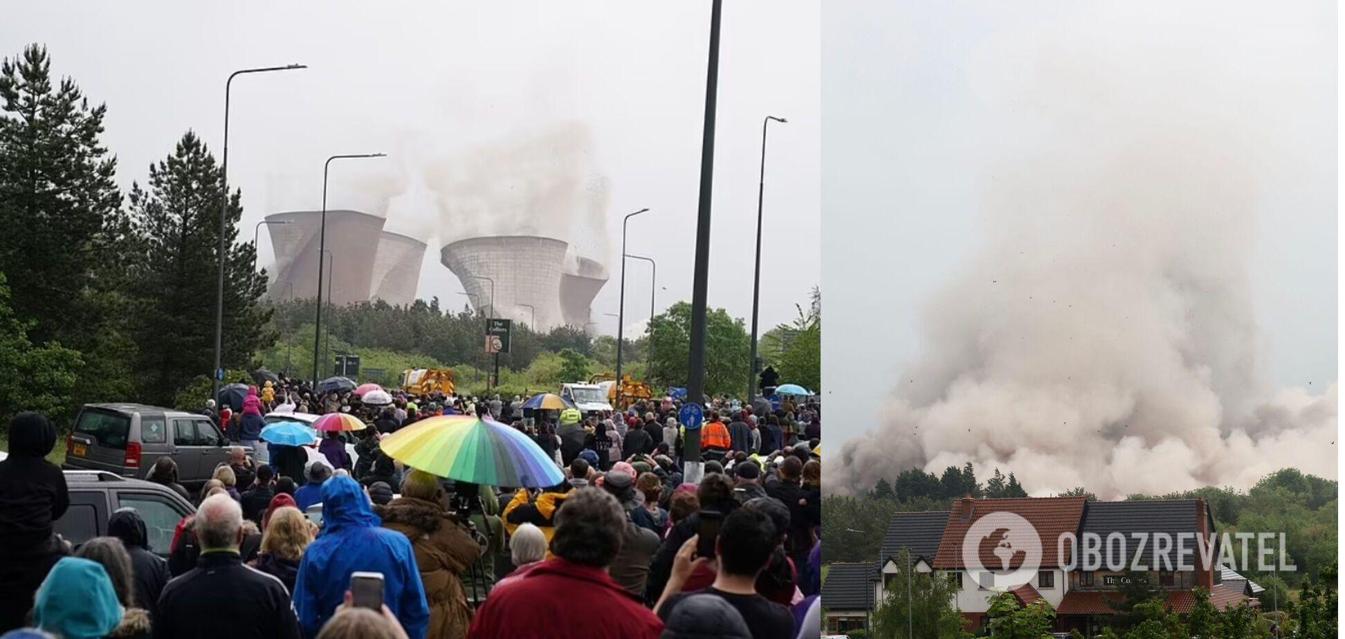 Люди спостерігали за вибухом з різних куточків регіону