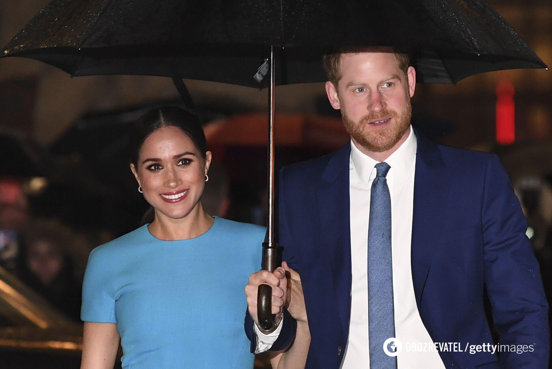 Принц Гарри и его супруга Меган Маркл