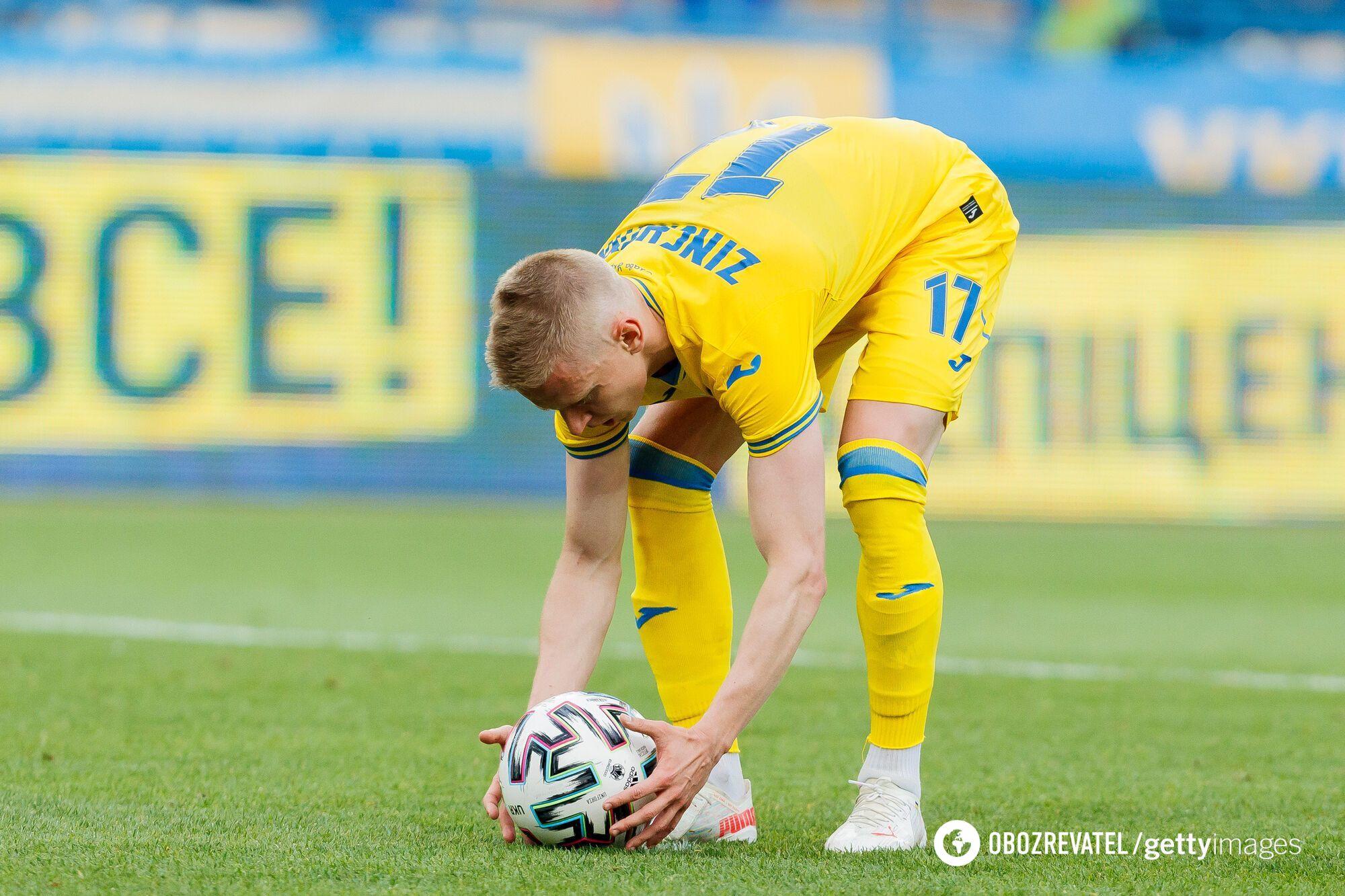 Зінченко реалізував другий пенальті нашої збірної