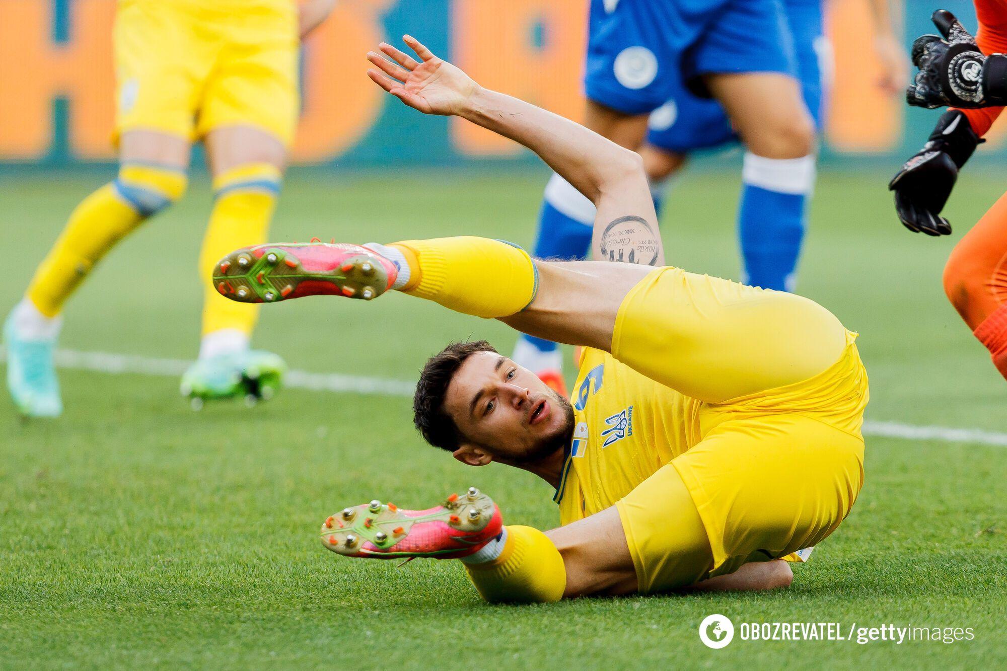 Роман Яремчук упустил несколько убойных шансов для гола