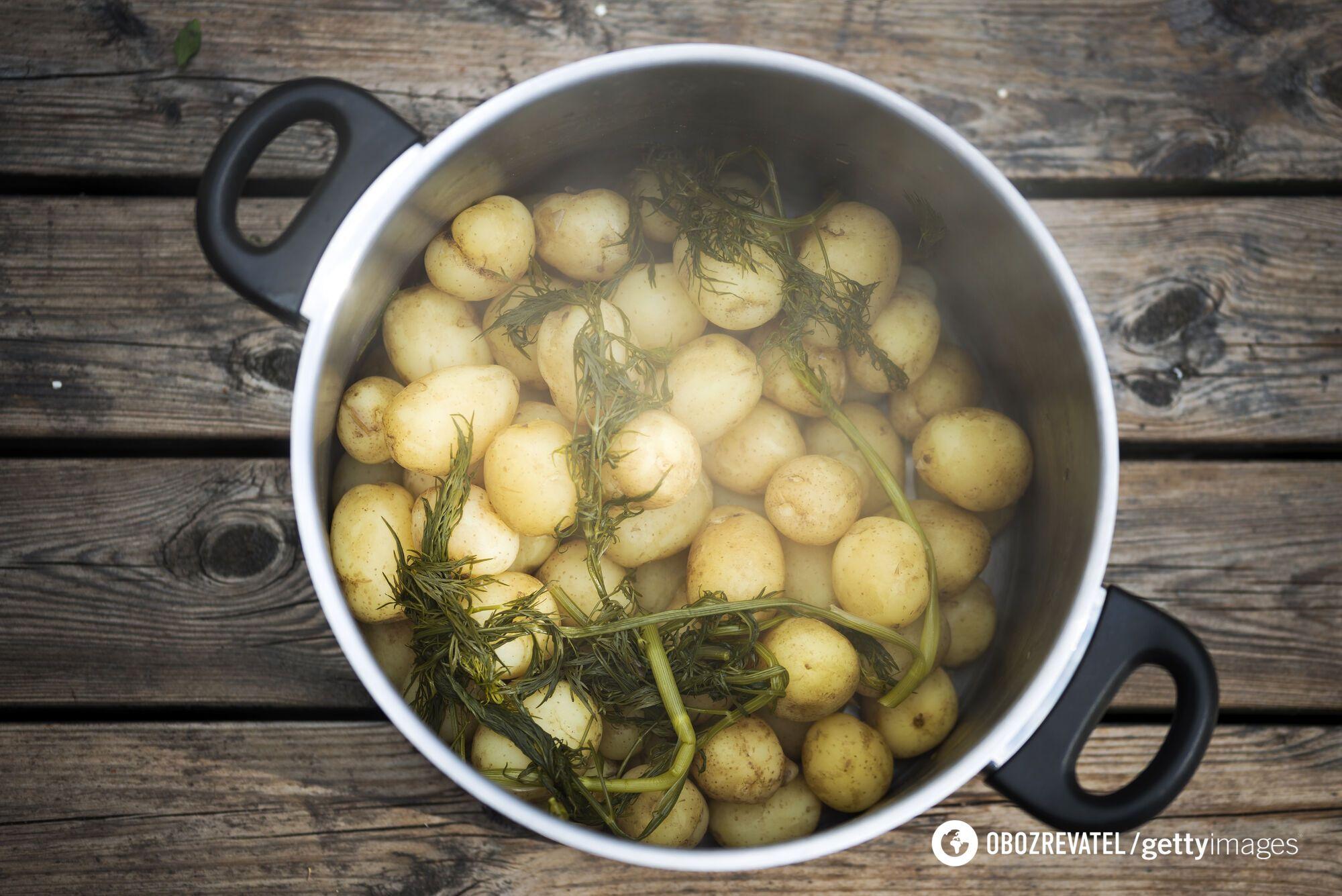 Варена картопля