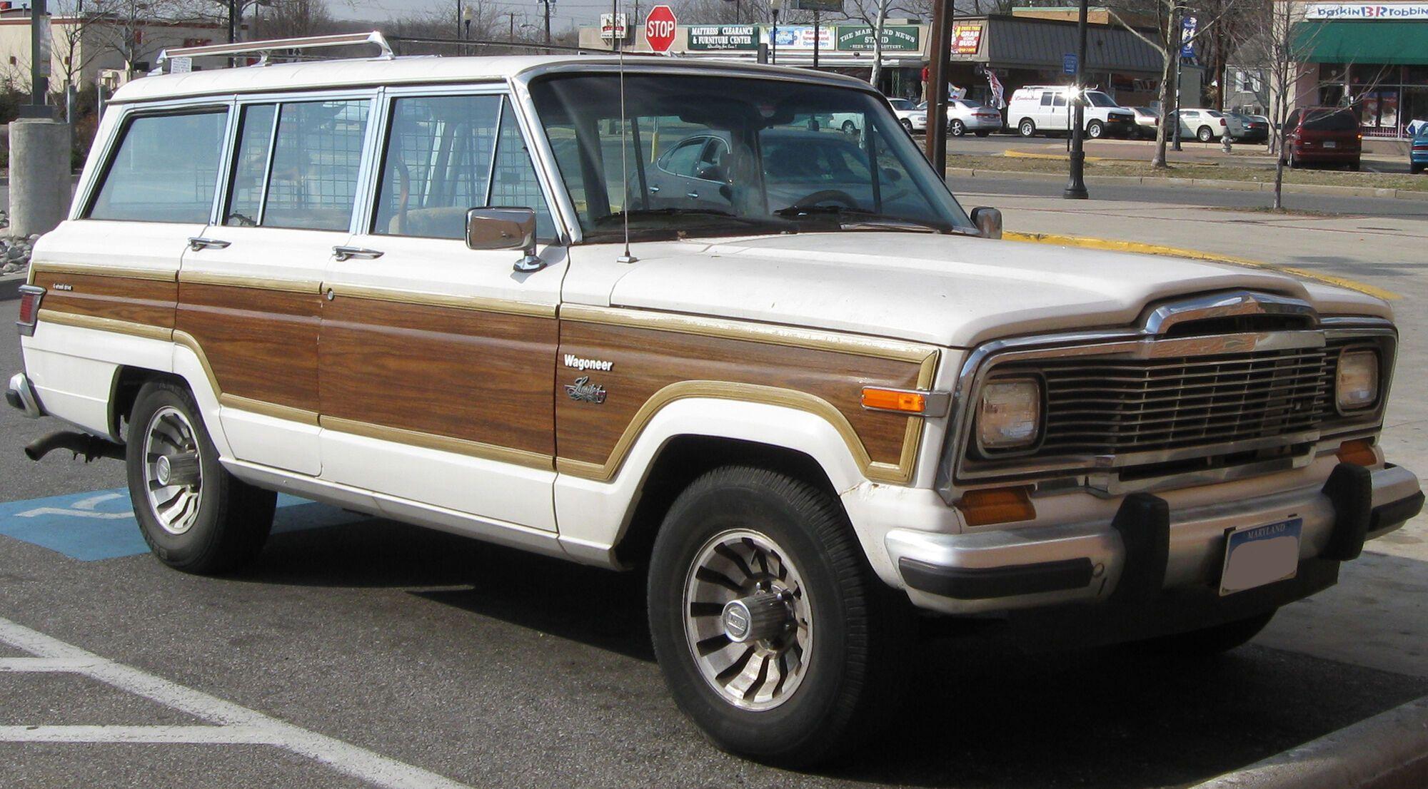 Первый Jeep Wagoneer вышел в 1963 году