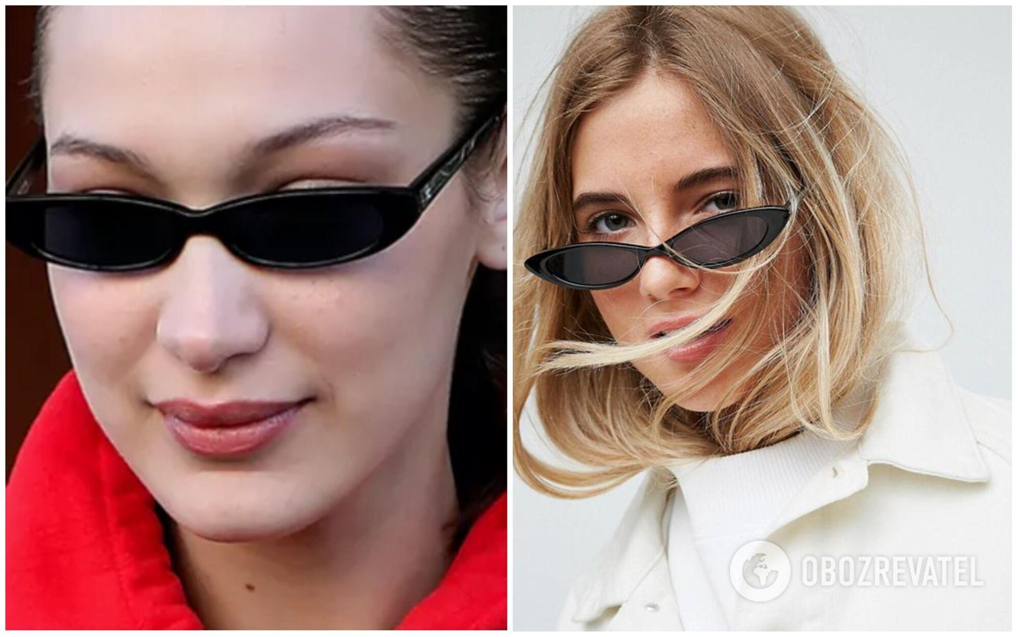 Тонкі окуляри вийшли з моди