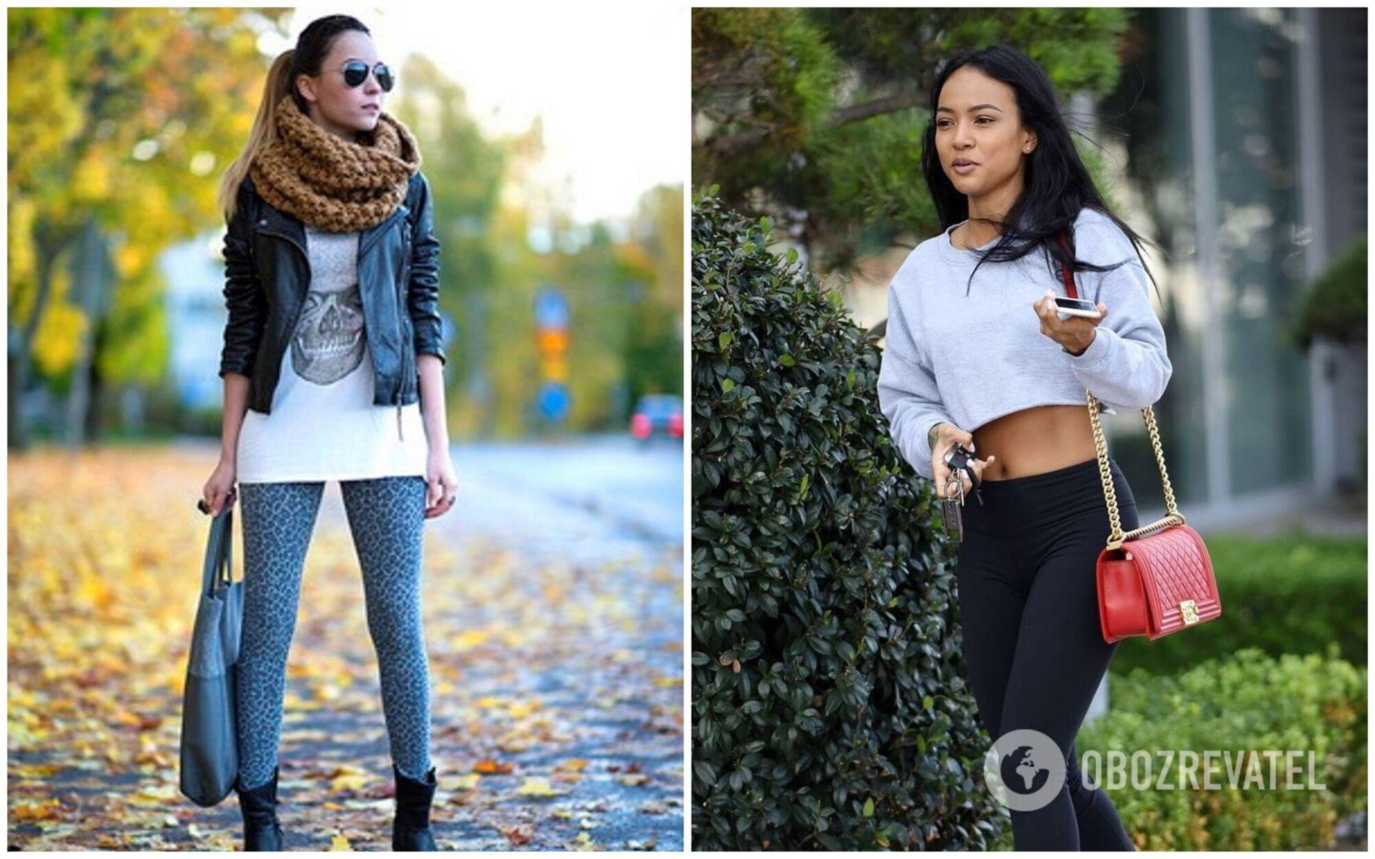 Легінси – один із найпідступніших елементів жіночого гардероба