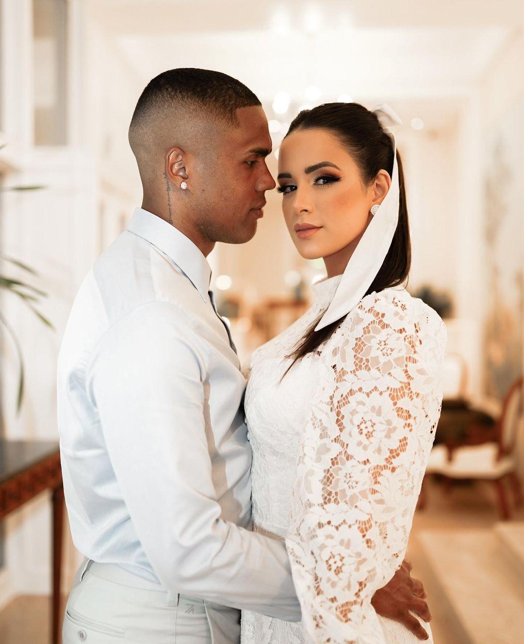 Наталія Фелікс і Дуглас Коста на весіллі