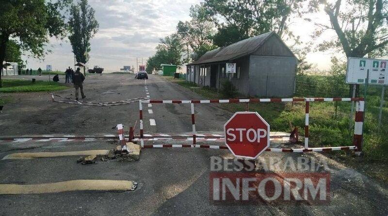 """Пьяный полицейский на """"евробляхе"""" разнёс пограничный пункт пропуска"""