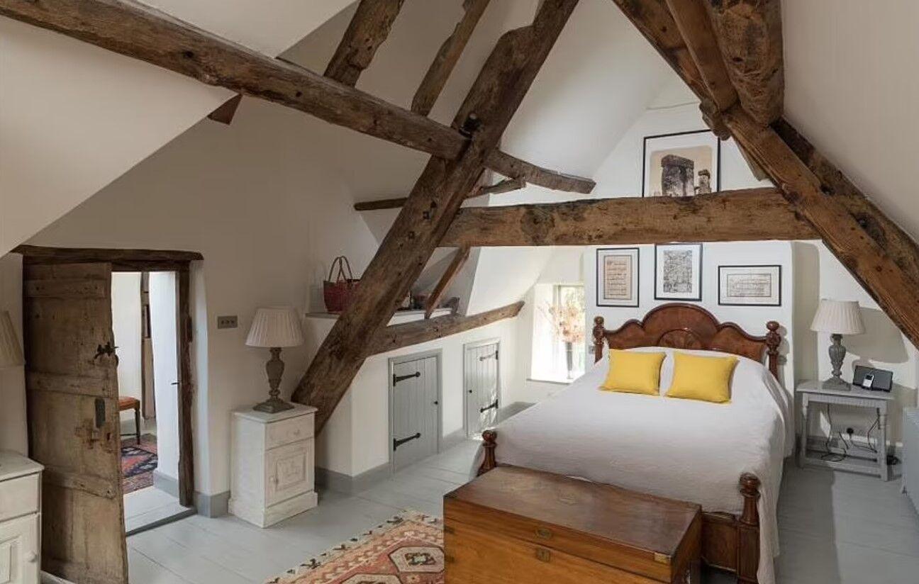Як виглядає спальня.
