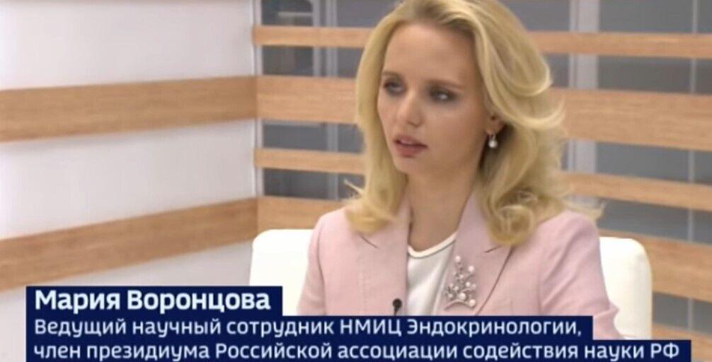 """Марія Воронцова в ефірі """"Росія 24"""""""