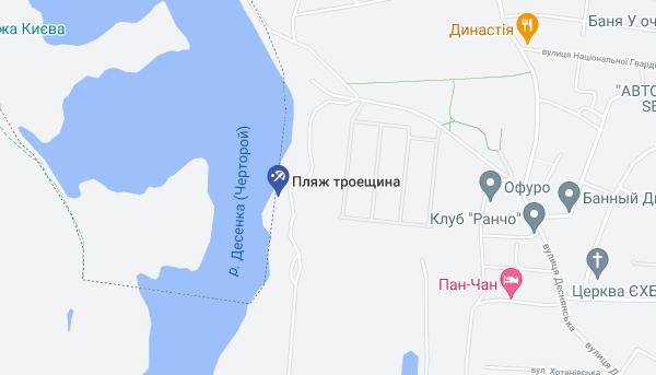 """""""Троещина"""" расположена недалеко от одноименного микрорайона."""