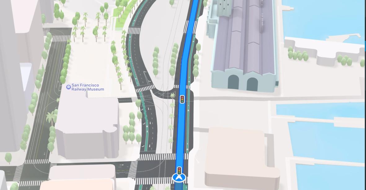 Обновление Apple Maps
