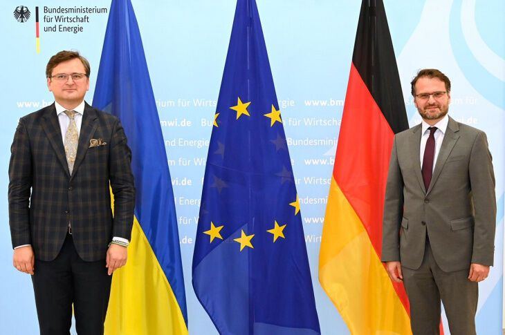 Кулеба встретился с немецкими политиками