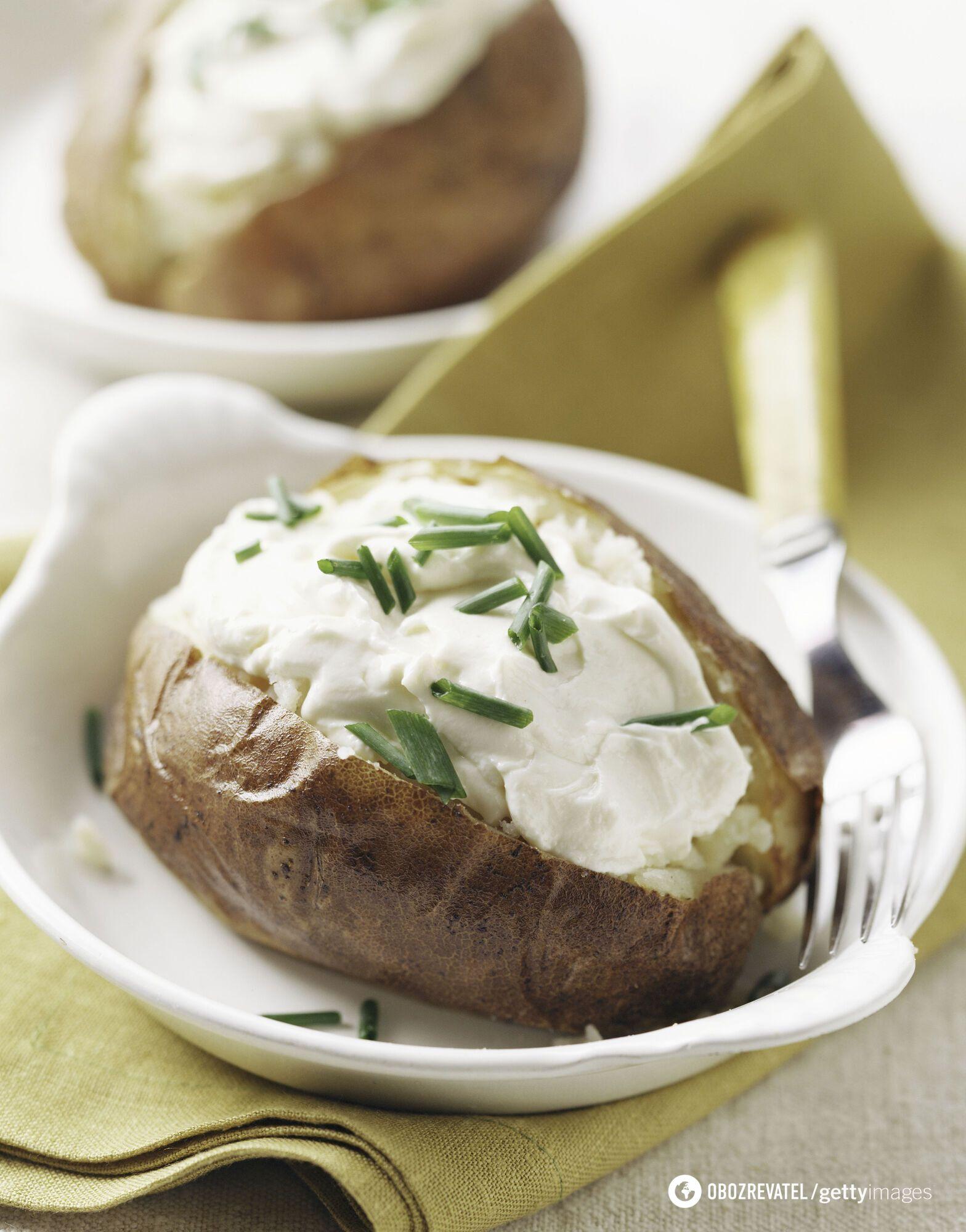 Картопля з рикотою