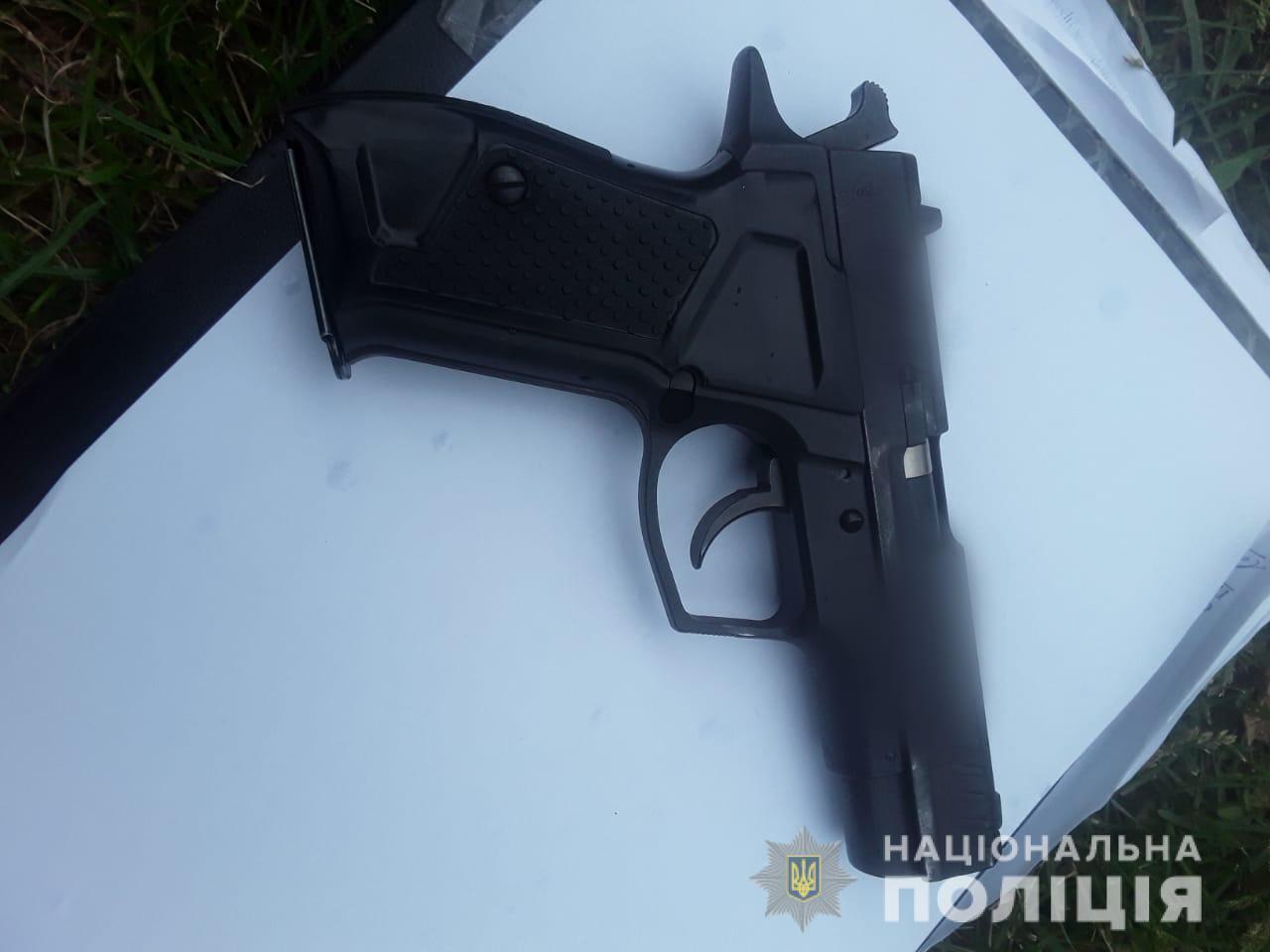 Оружие, из которого мужчина стрелял по односельчанам
