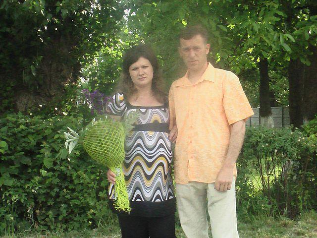Батьки загиблого хлопчика, фото зроблене 10 років тому.