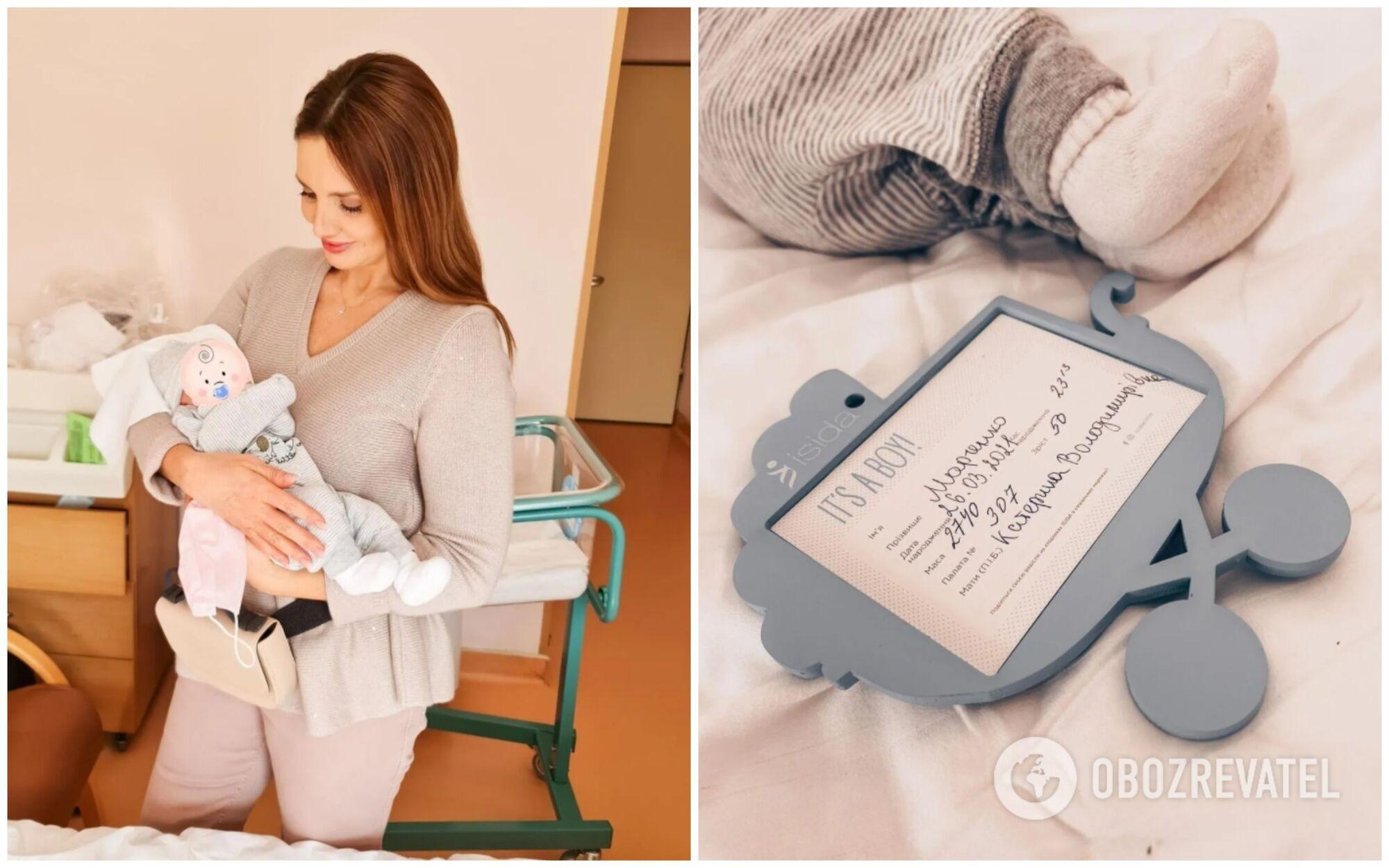 Українська телеведуча Оксана Марченко стала бабусею хлопчика Віктора