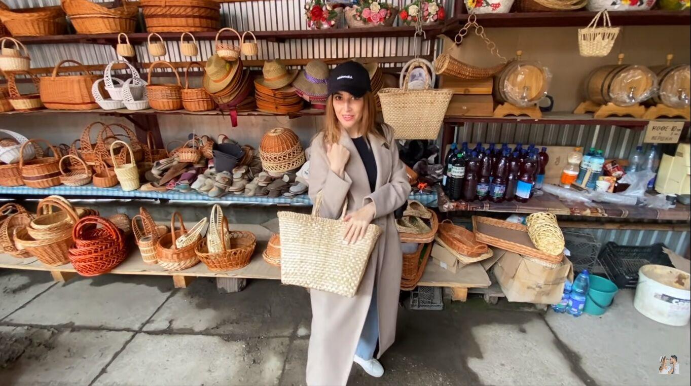 Ольга Манько в українському селі Іза – столиці лозоплетіння