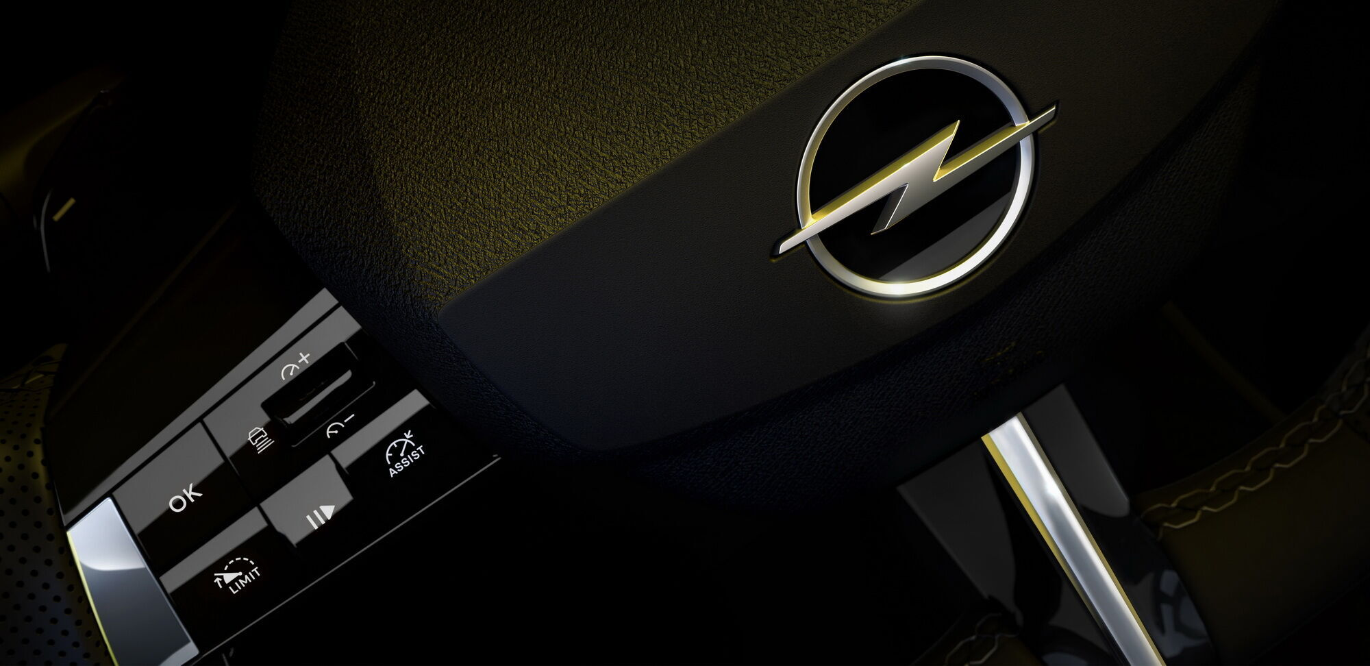 На руле Astra будут сенсорные кнопки