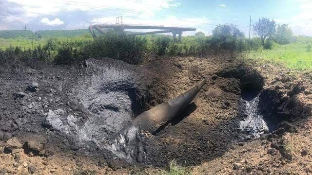 Последствия взрыва на газопроводе