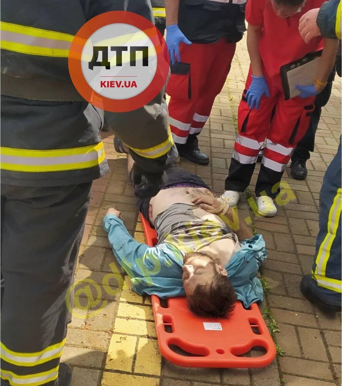 От полученных травм мужчина погиб на месте.