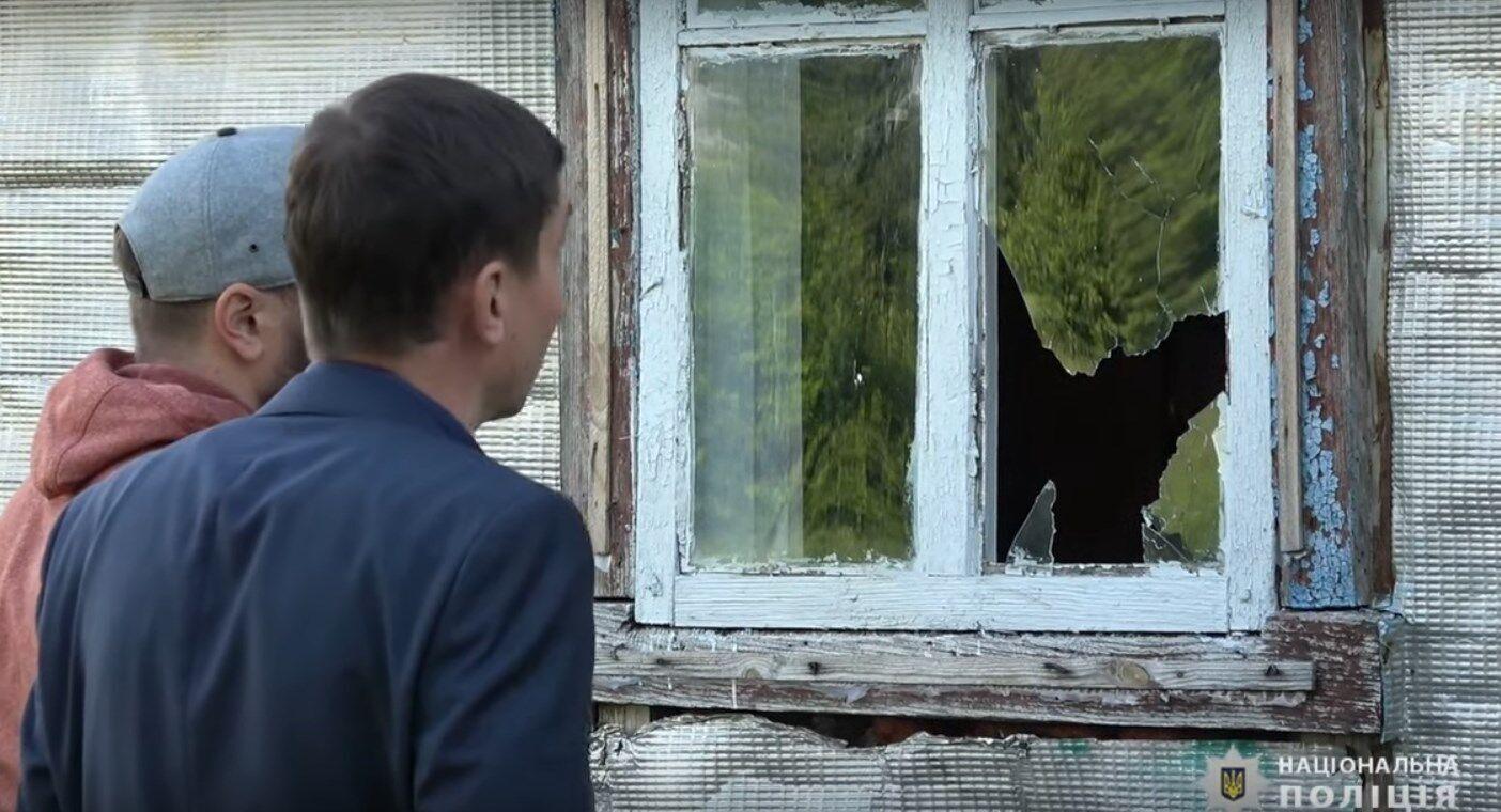 Вбивця стріляв у вікно