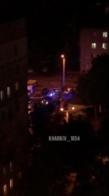 Полиция и скорая на месте ЧП