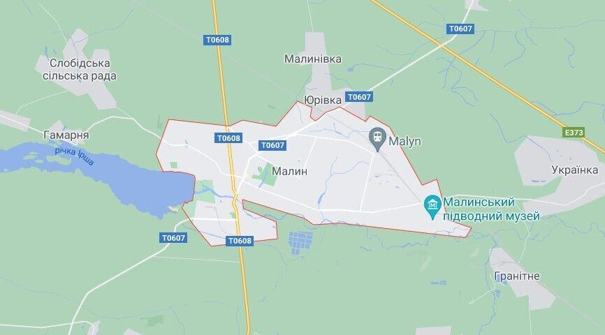 Події розгорталися у місті Малин на Житомирщині