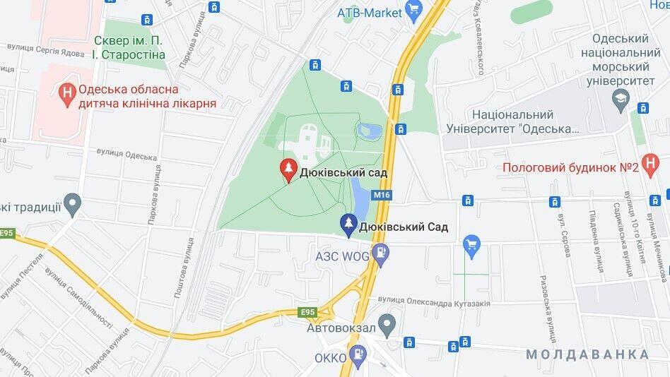 Артефакти виявили біля Дюківського саду в Одесі