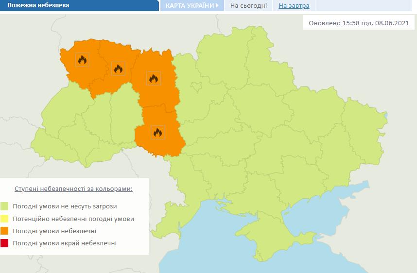 Предупреждение Укргидрометцентра