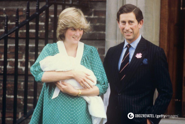 Во время рождения принца Уильяма здоровье принцессы Дианы резко ухудшилось