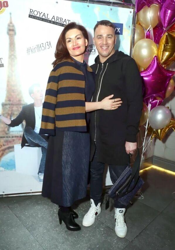 Кирило Андрєєв з дружиною Лолітою