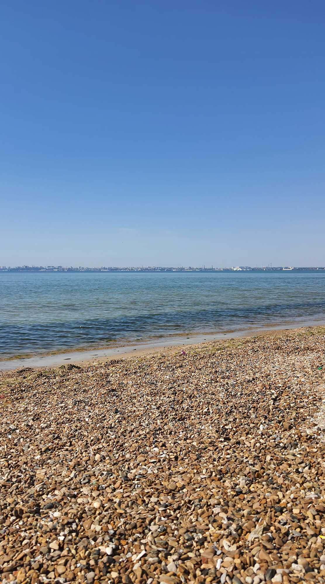 Пляж в Одессе 9 июня.