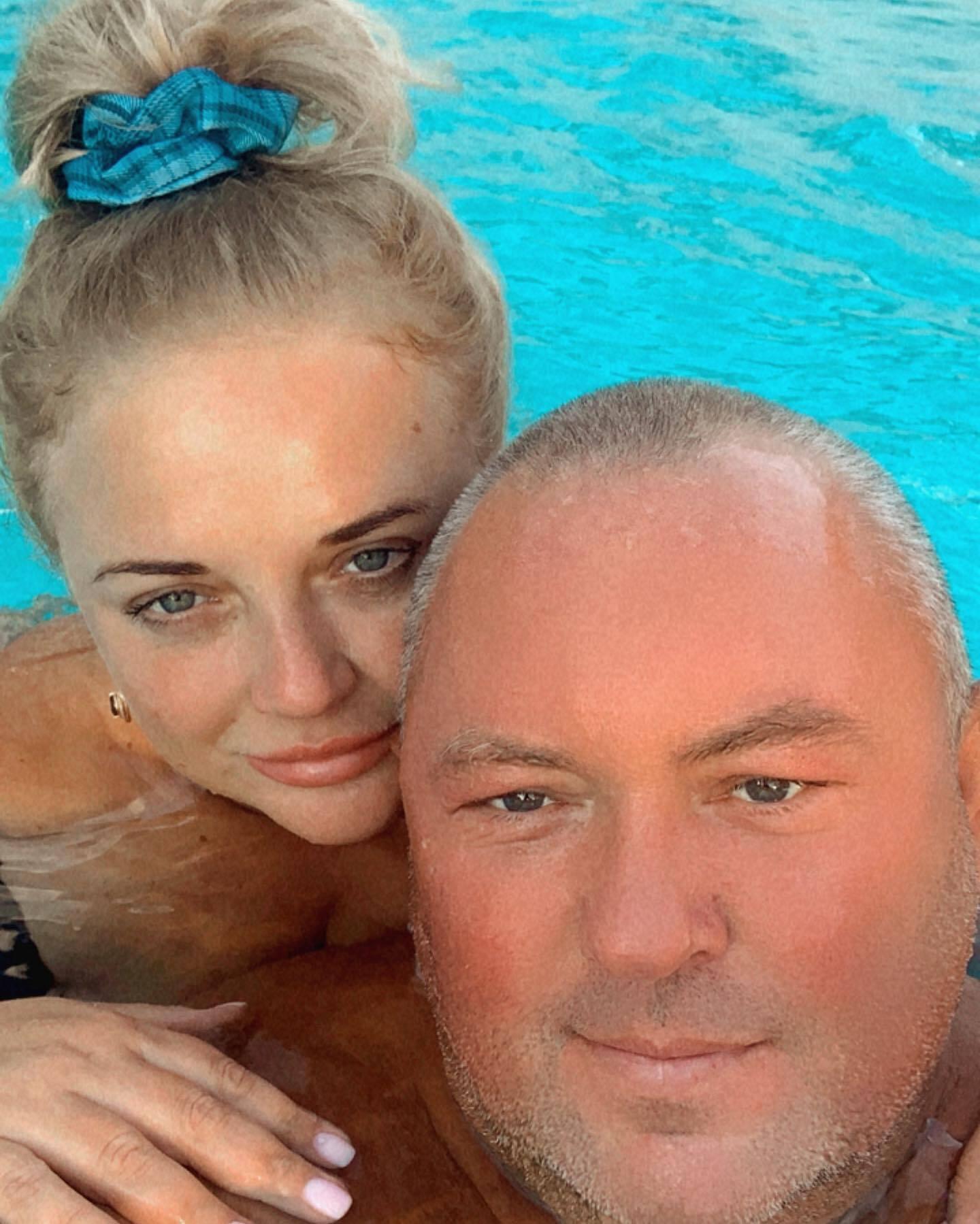 Едуард Жмутський із дружиною