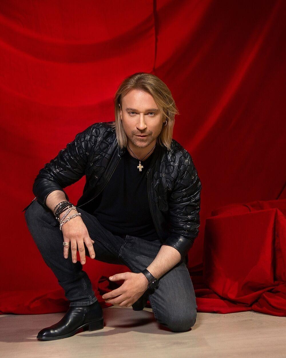Украинский певец Олег Винник
