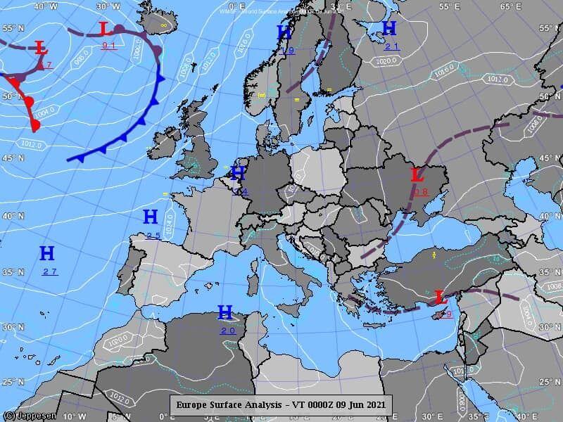 Погода в Україні 10 червня.
