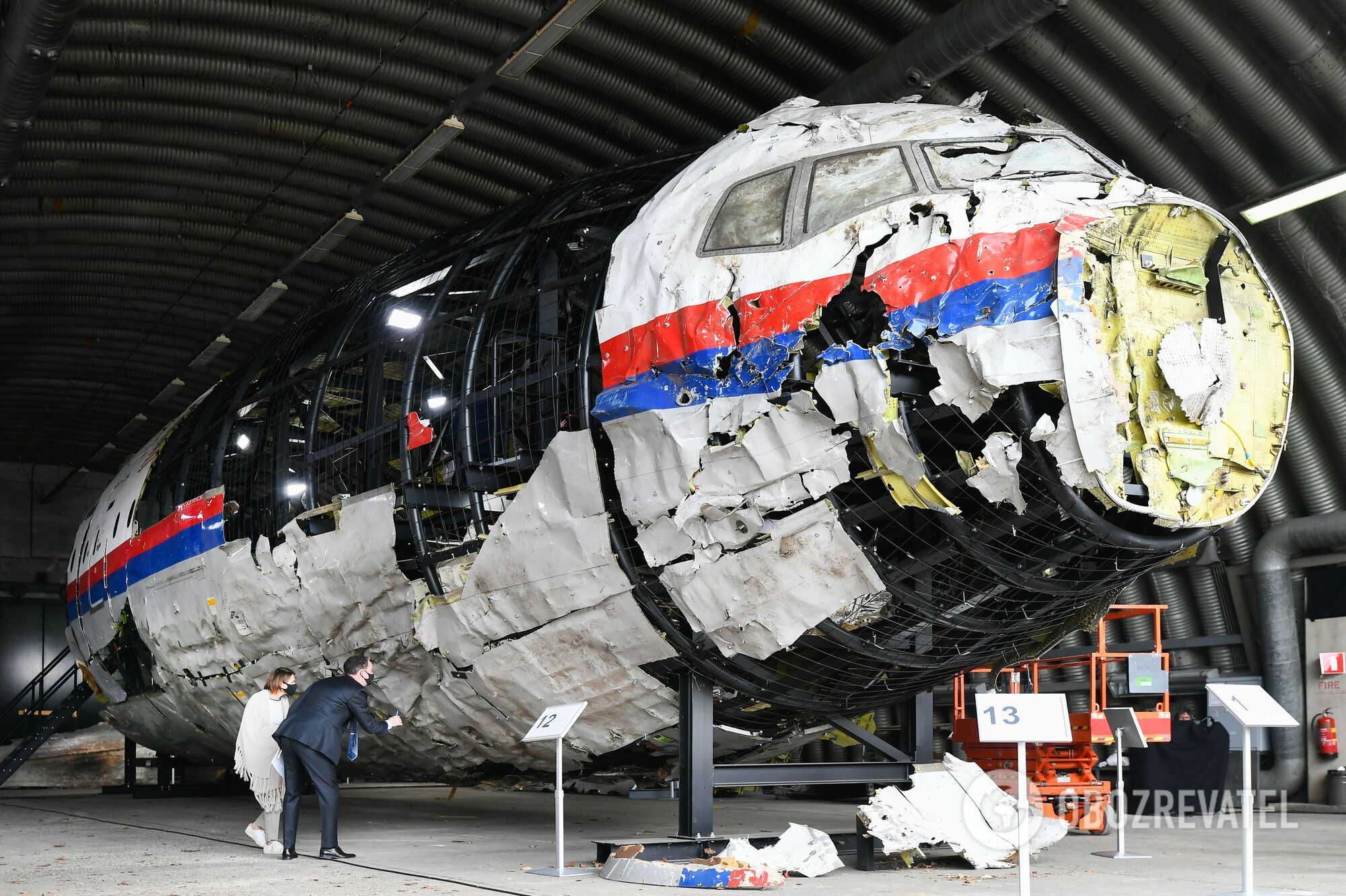 Сбитый на Донбассе Boeing 777