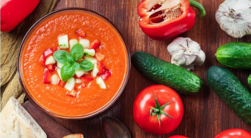 Як приготувати пряний суп гаспачо