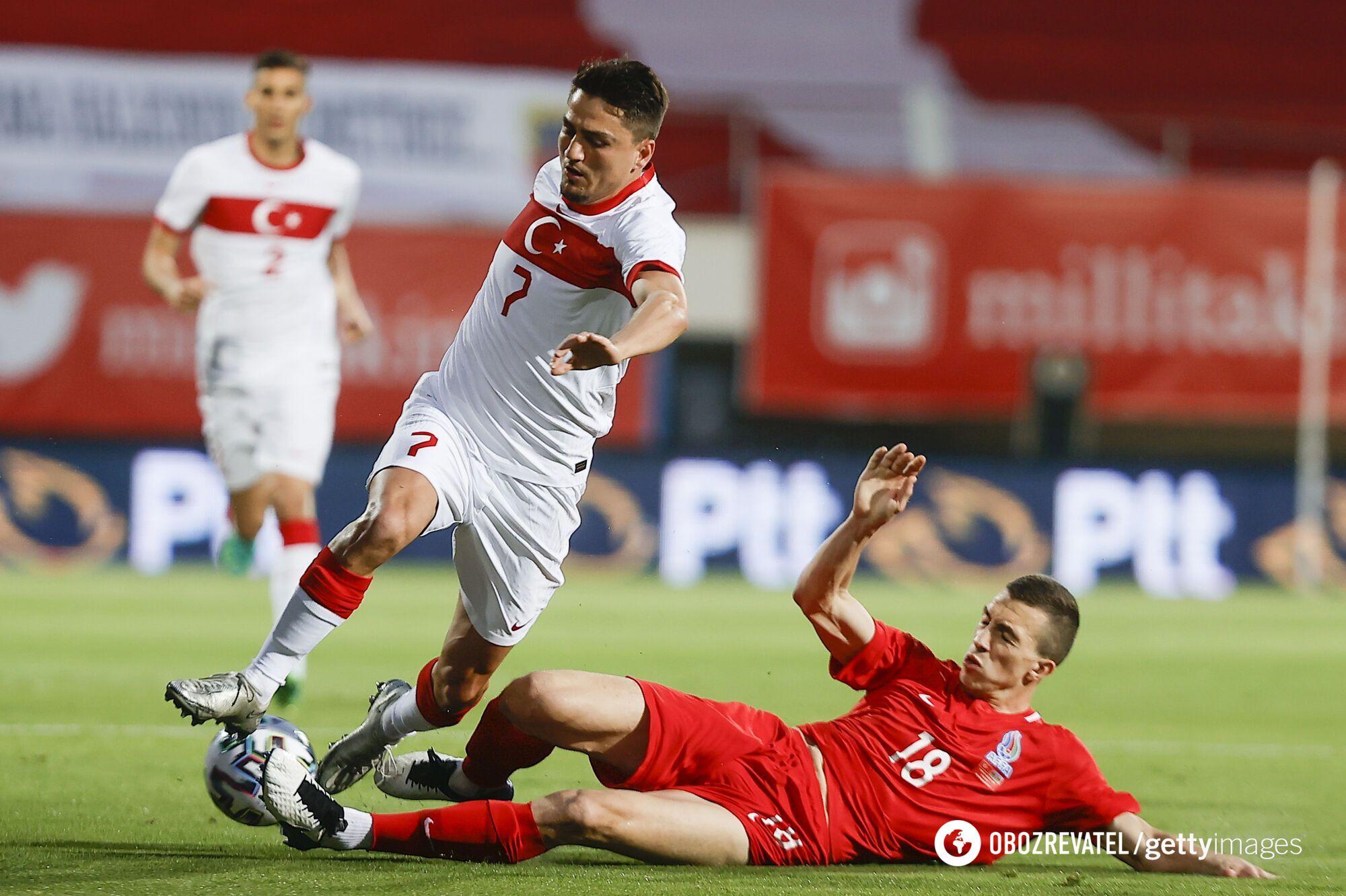 Туреччина в матчі проти Азербайджану