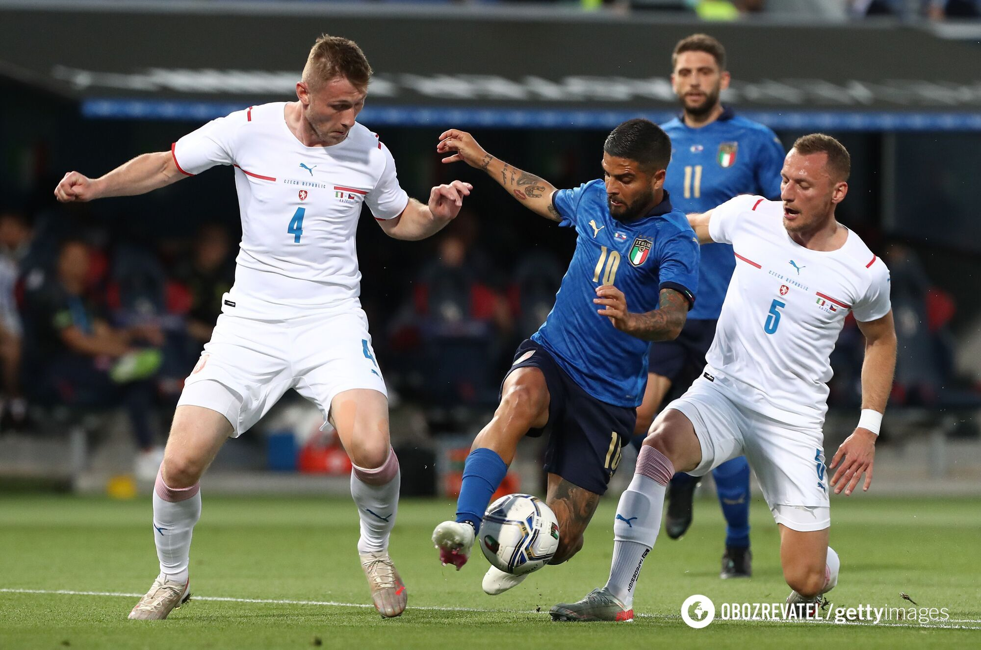 Італія проти Чехії