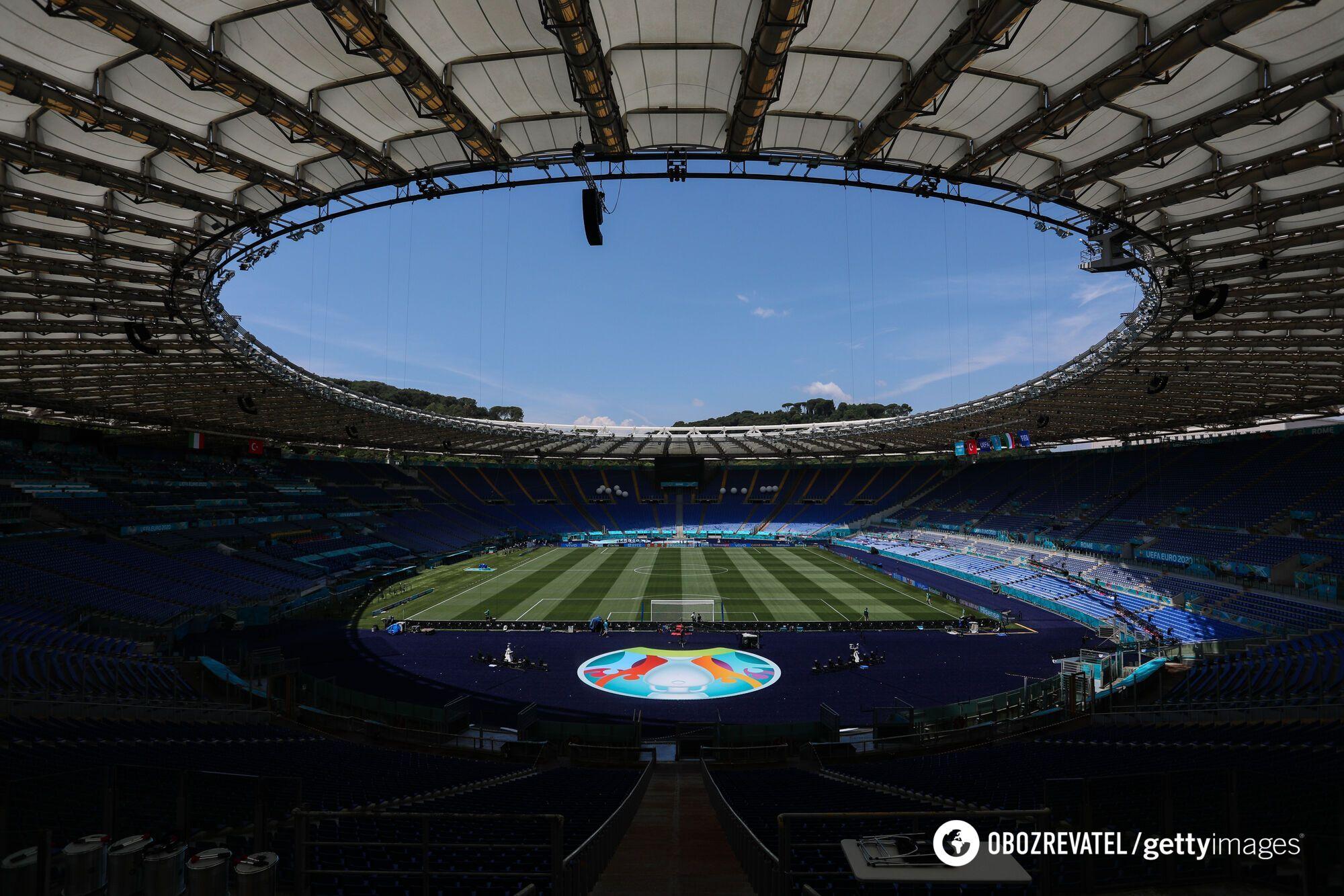 """Стартовий матч Євро-2020 пройде на """"Стадіо Олімпіко"""""""